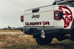 Jeep Gladiator zaczepy zderzaka