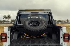 Jeep Gladiator bagażnik na koło zapasowe