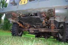 Jeep M677 wzmocniona rama i mosty