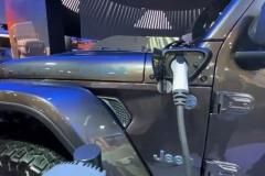 Jeep Wrangler 4xe gniazdo ładowania