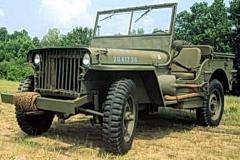 Willys MB wczesny model
