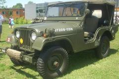 Willys M38A1 rozpoznania