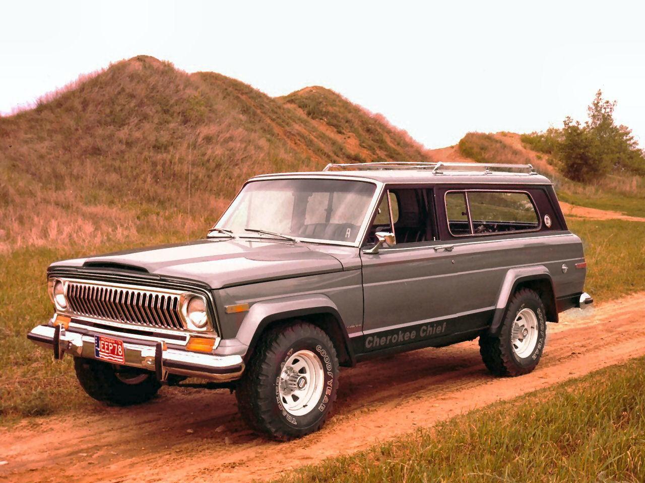 Jeep Cherokee Sj 1978