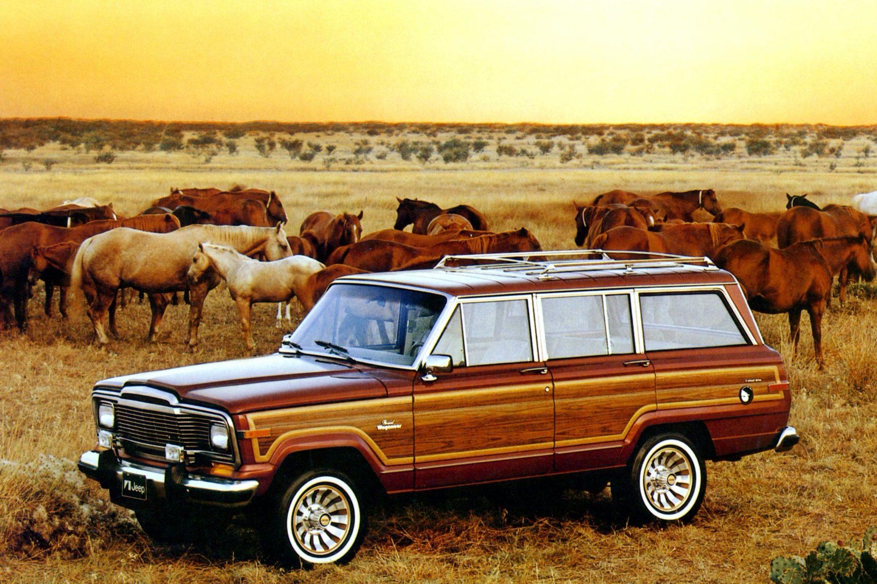 Jeep Grand Wagoneer 1984