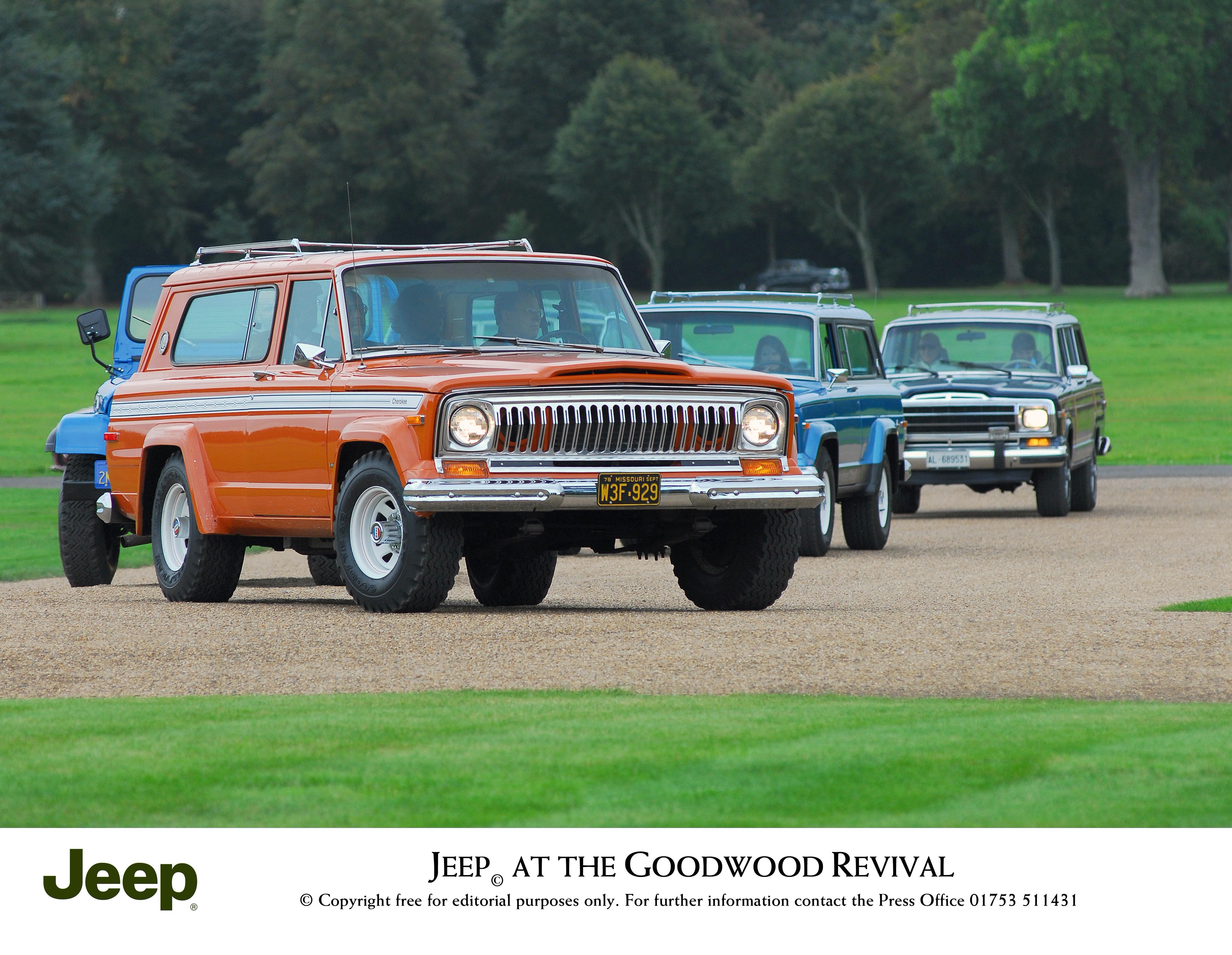 Jeep Cherokee SJ