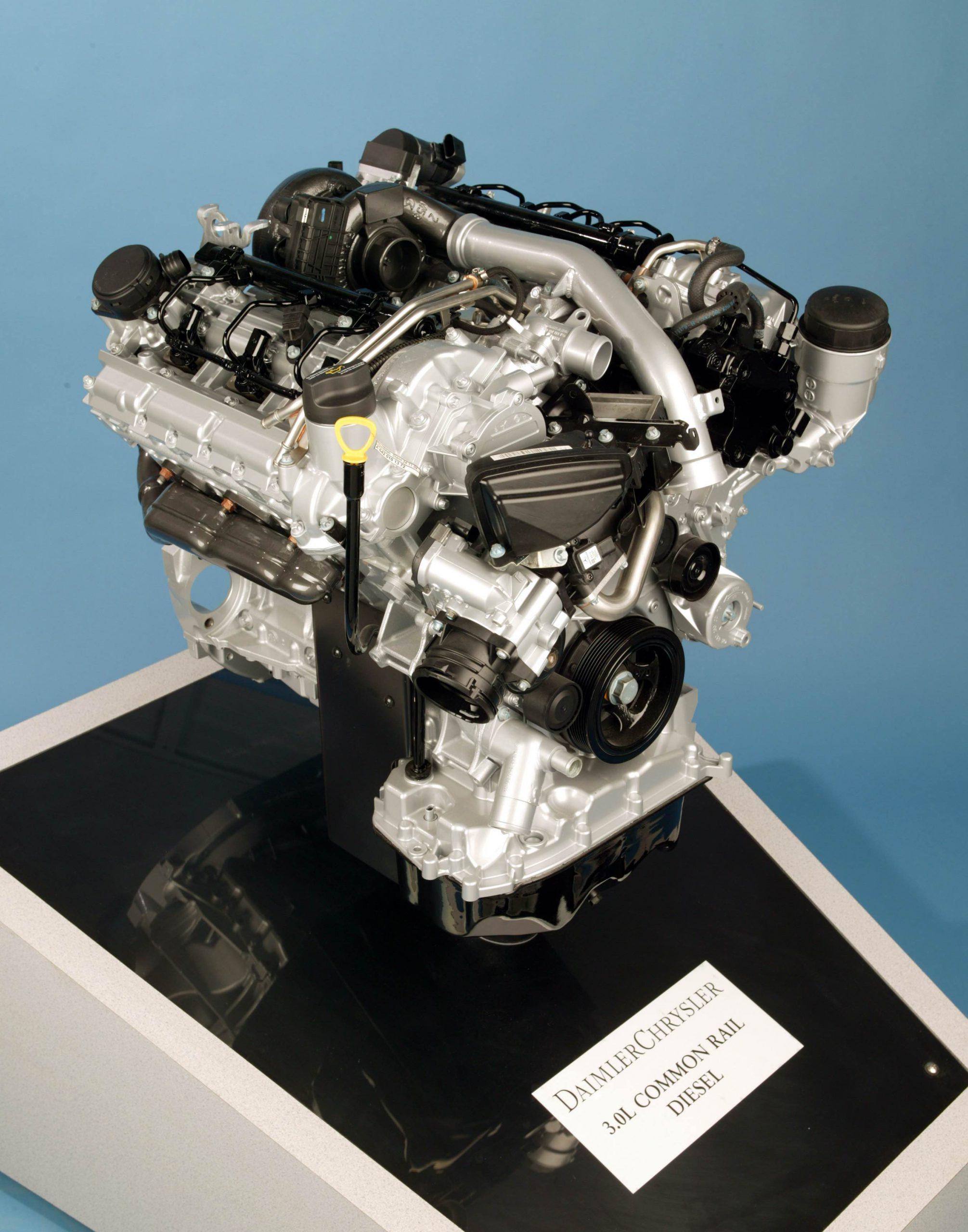Jeep silnik diesel 3.0l V6