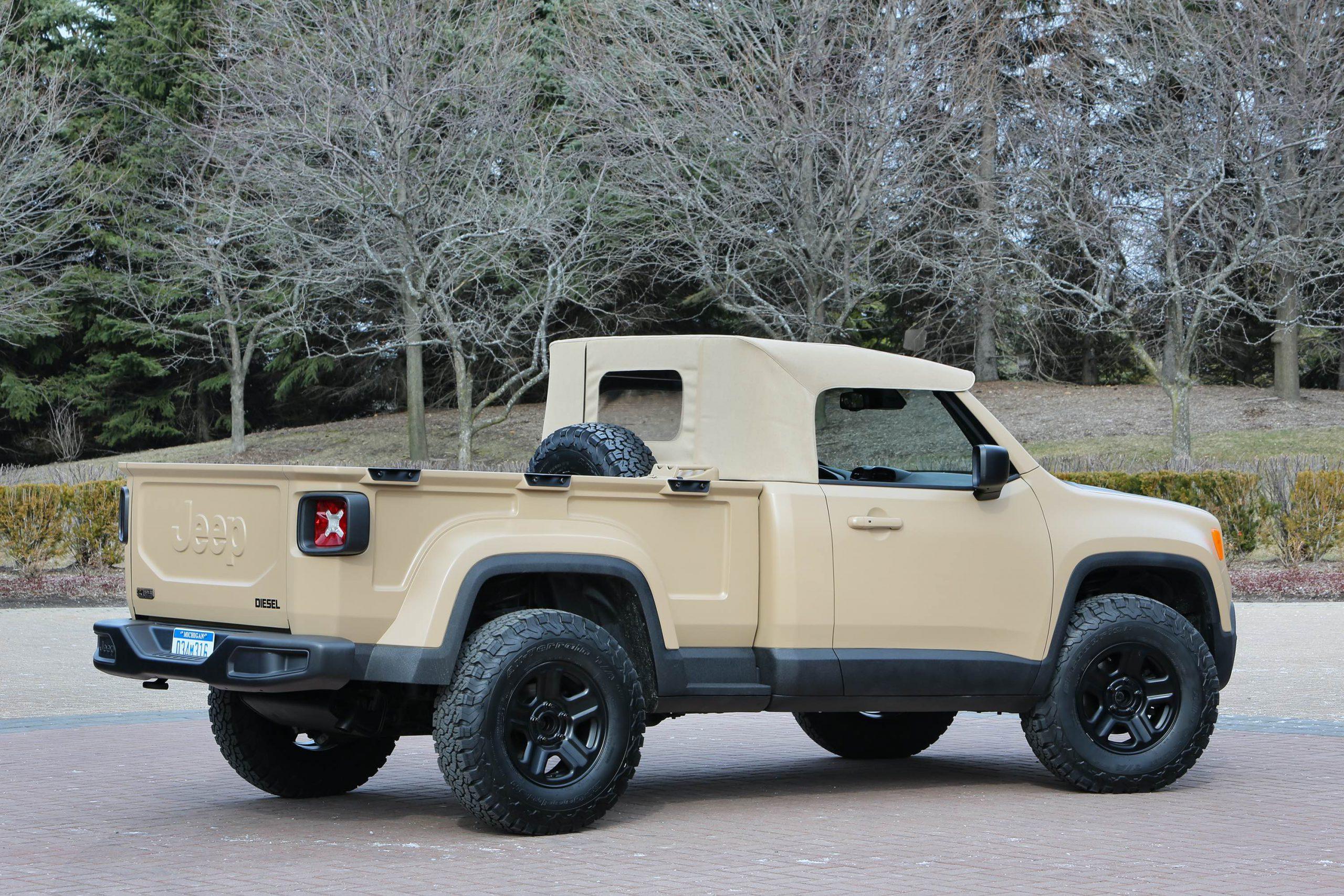 Jeep? Comanche Concept