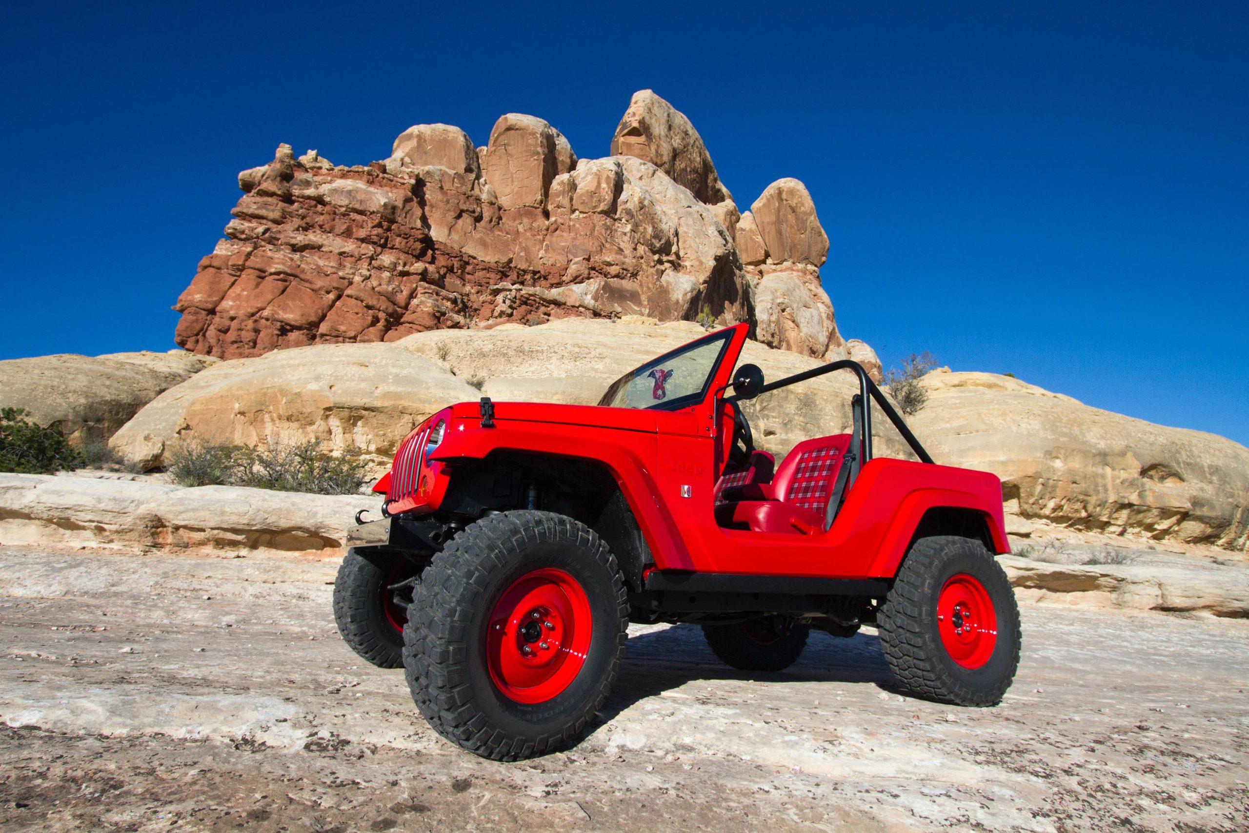 Jeep? Shortcut Concept