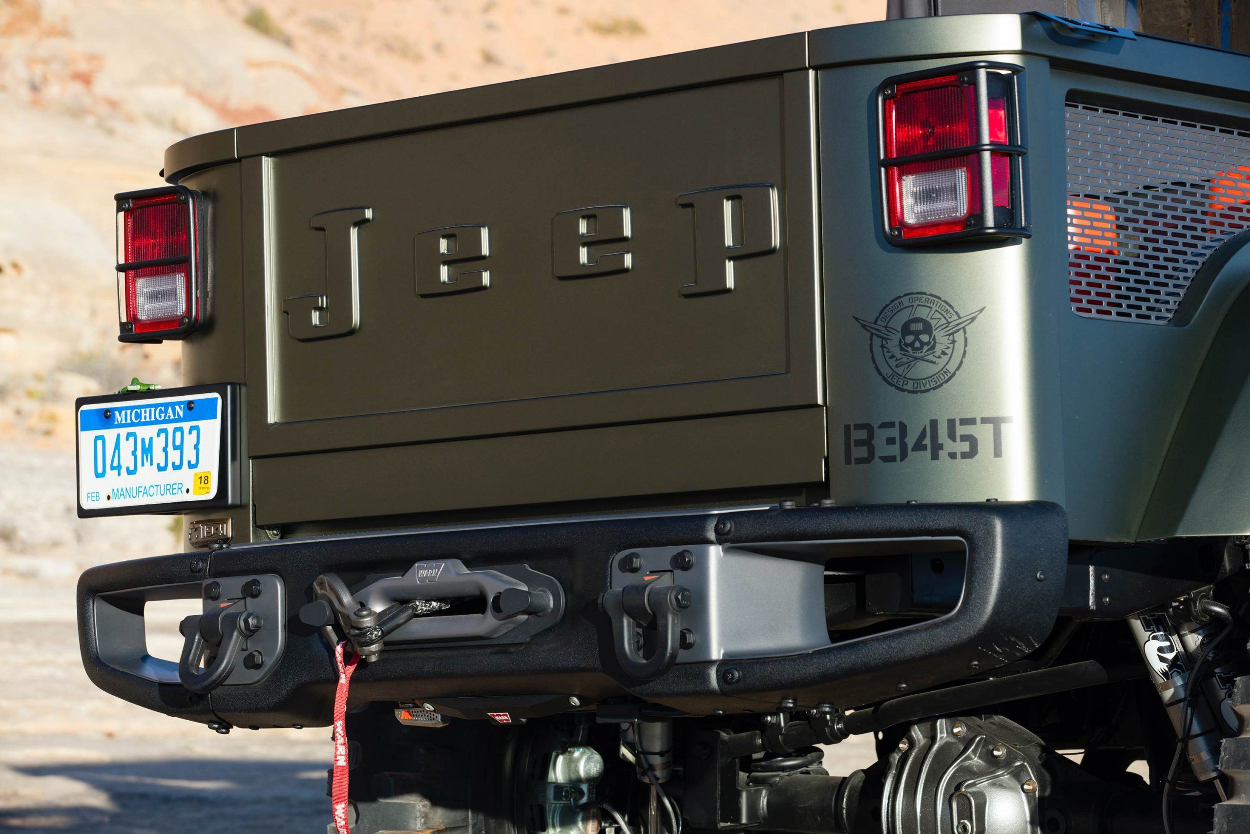 Jeep? Crew Chief 715 Concept