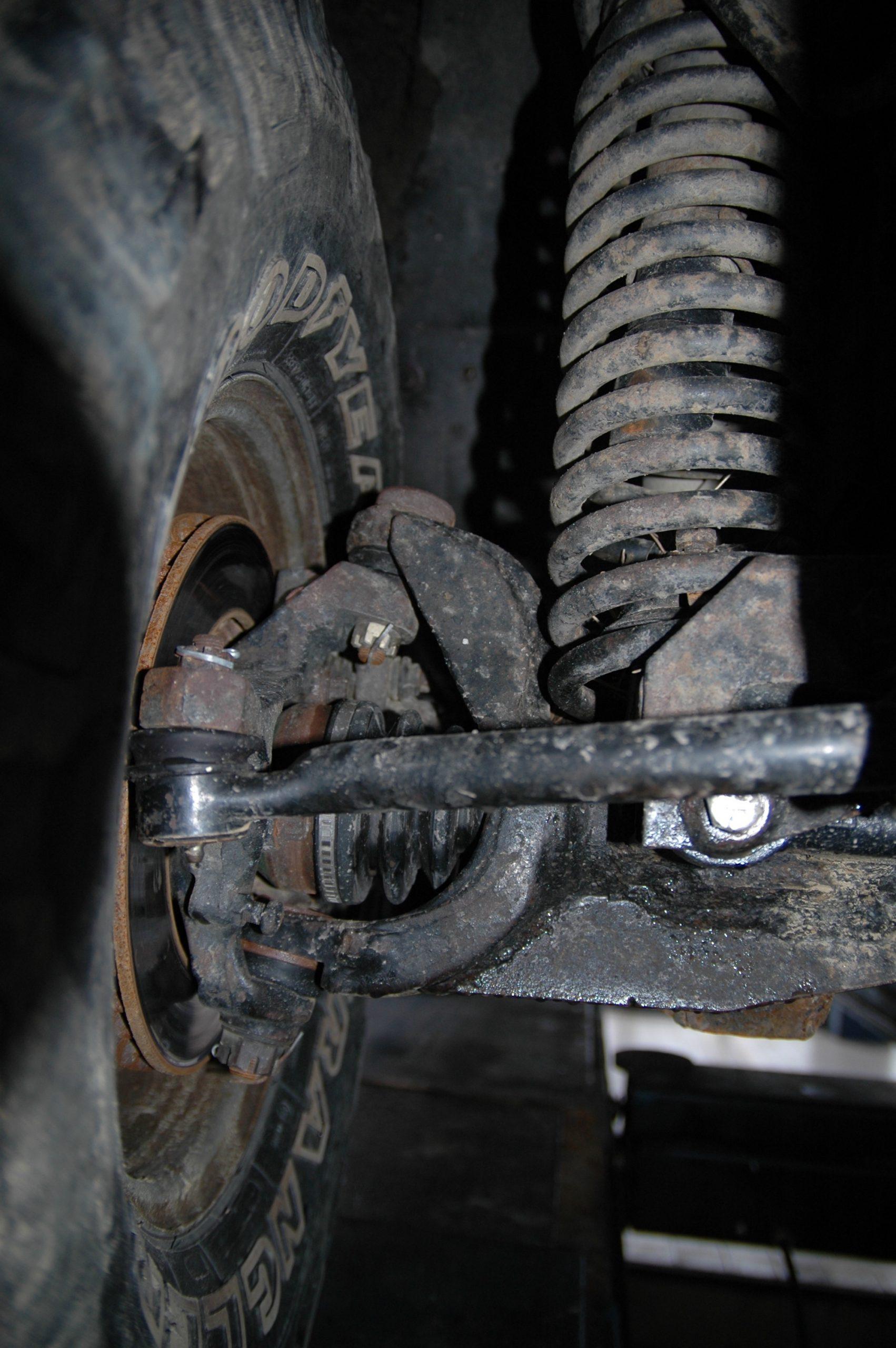 Długie sprężyny Dick Cepek Jeep Wrangler TJ