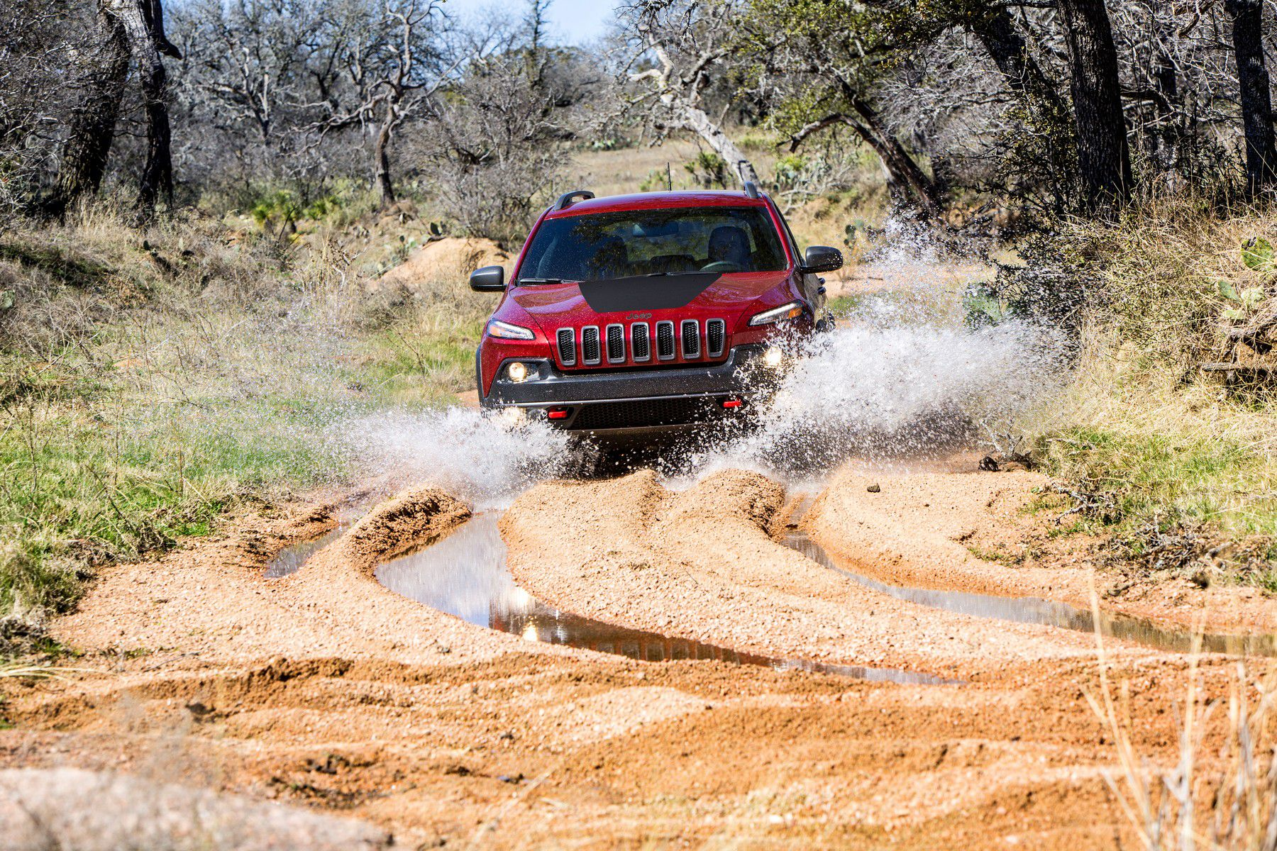 Jeep Cherokee Trailhawk KL 2014
