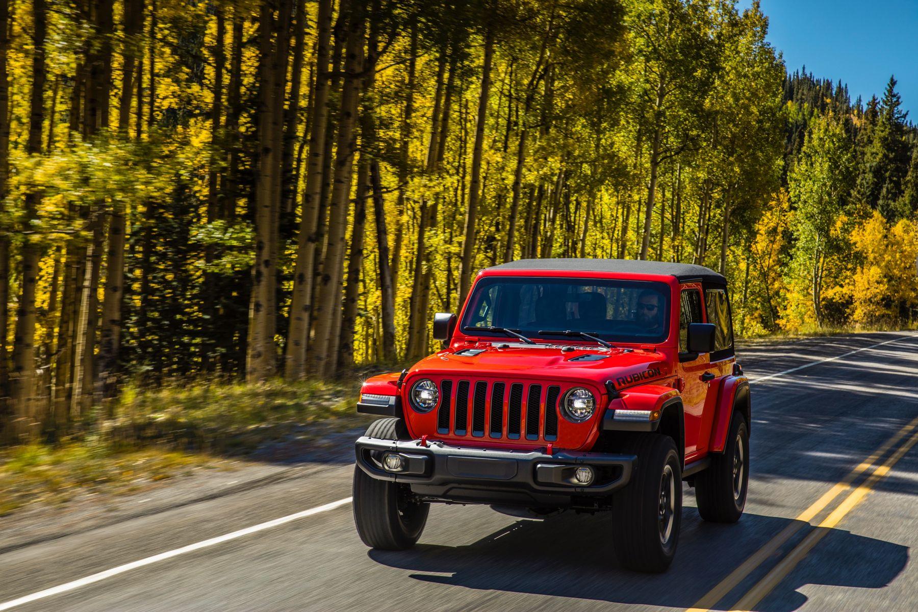All-new 2018 Jeep? Wrangler Rubicon