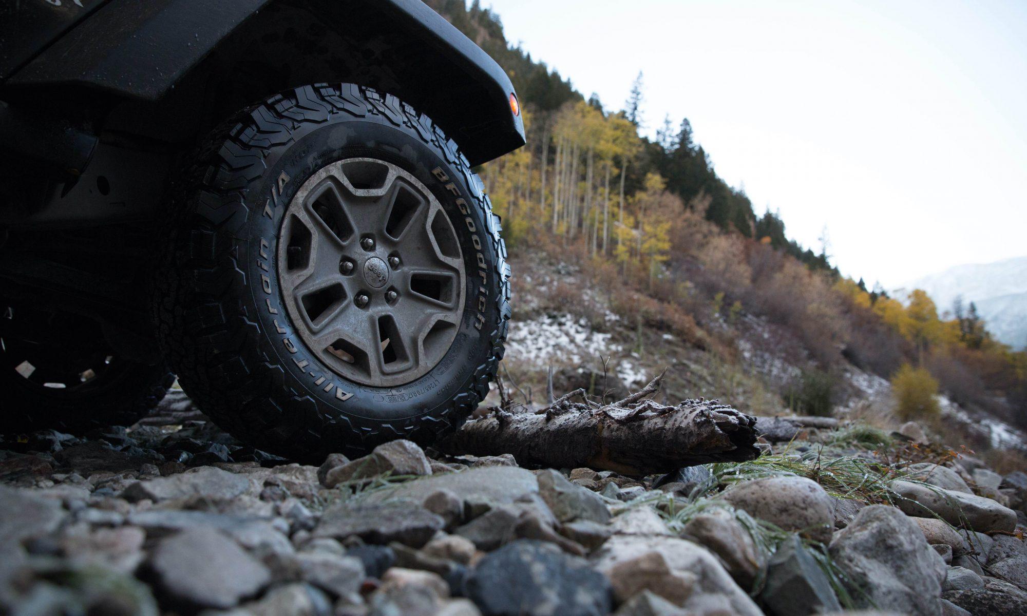 Jeep opony AT