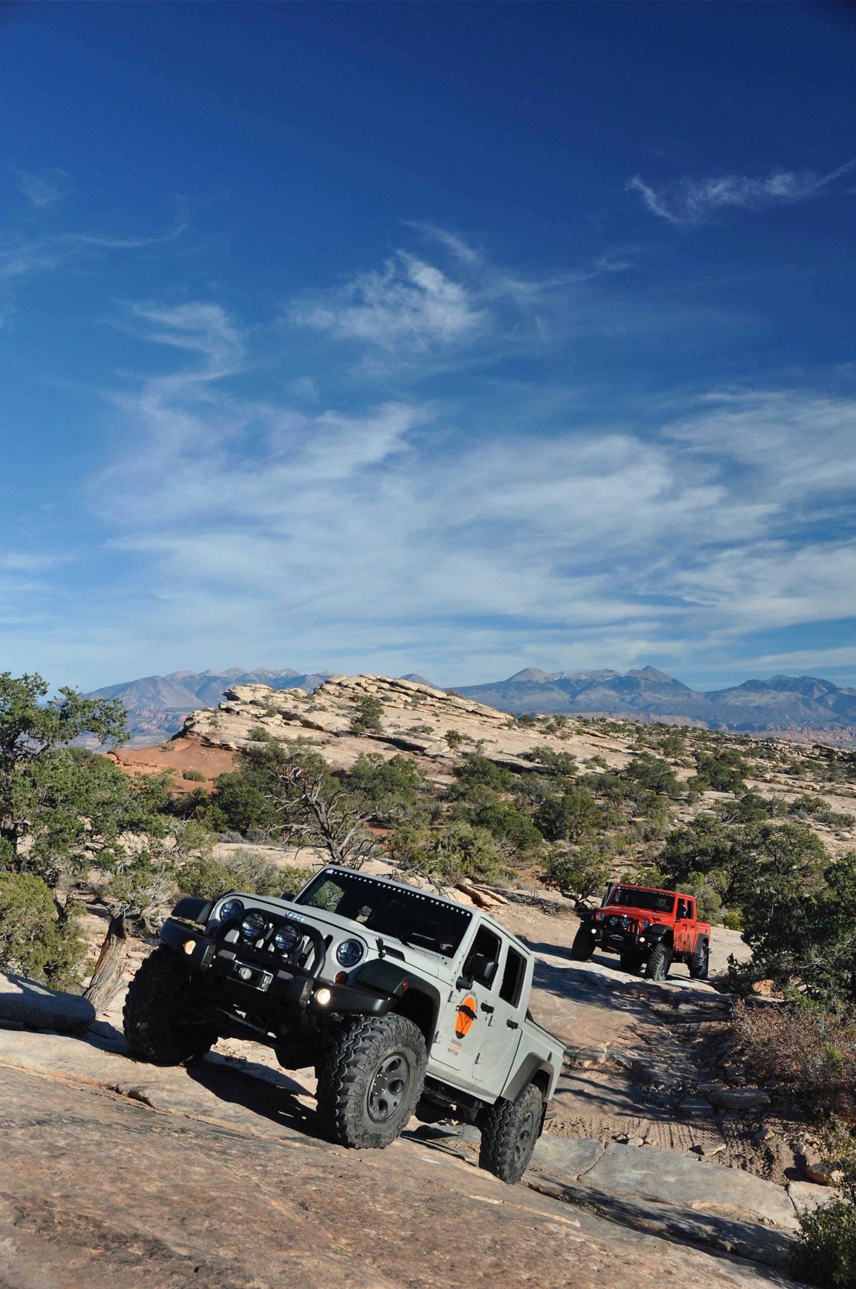 Jeep Wrangler JK Brute Double Cab AEV -pikup