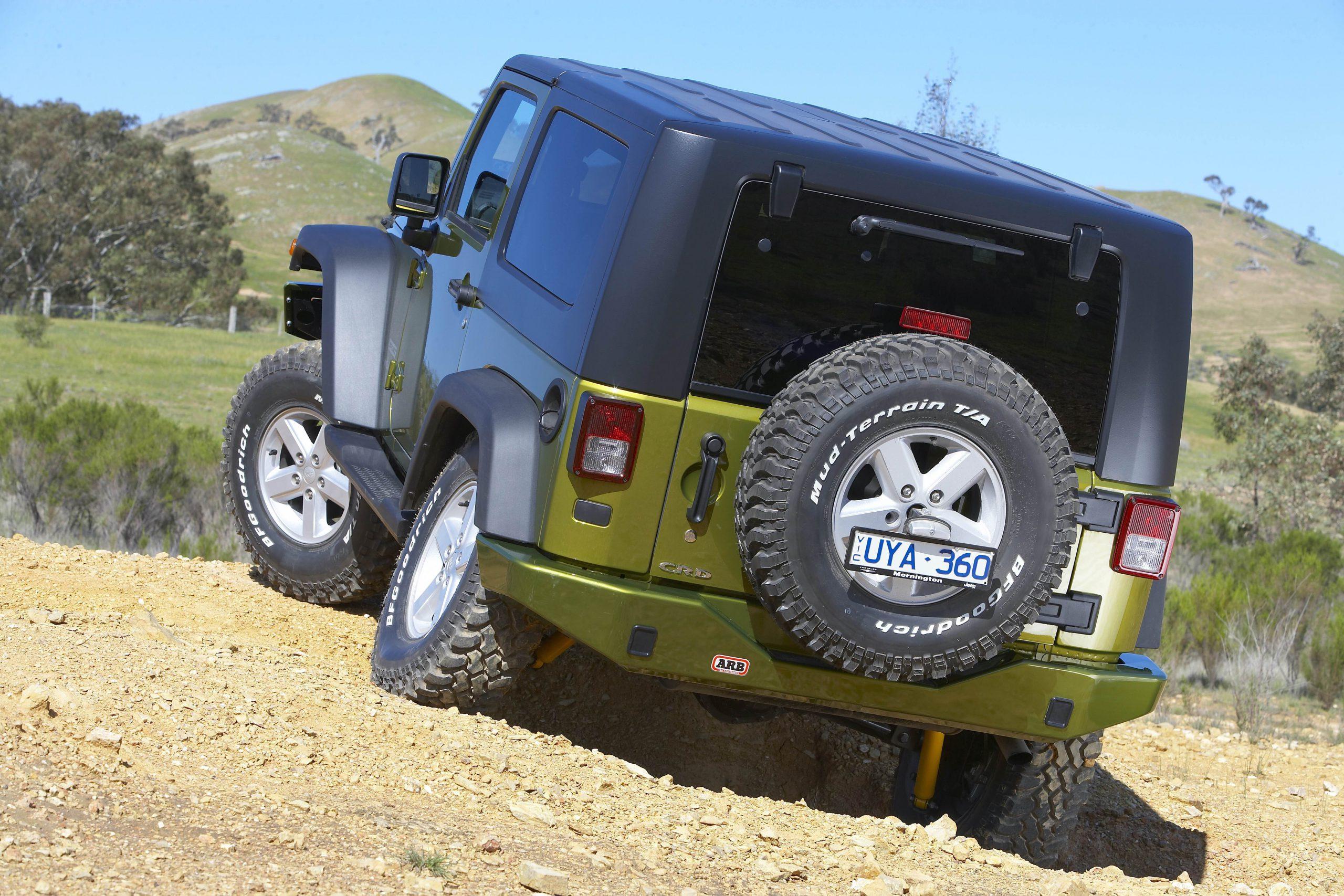 Jeep opony MT