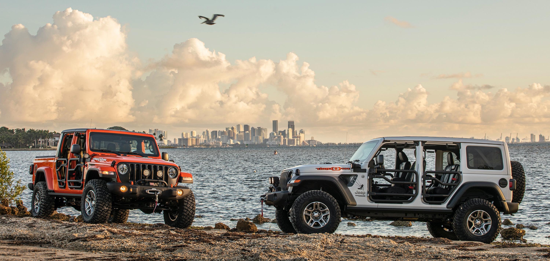 Jeep Wrangler JL i Jeep Gladiator JLT 2020